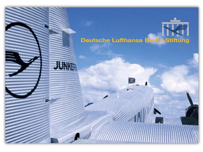 Deutsche Lufthansa Berlin-Stiftung Imagebroschüre erstellen und gestalten in Hamburg